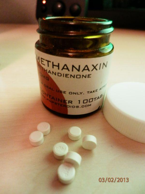 pmp steroids methanaxin methandienone