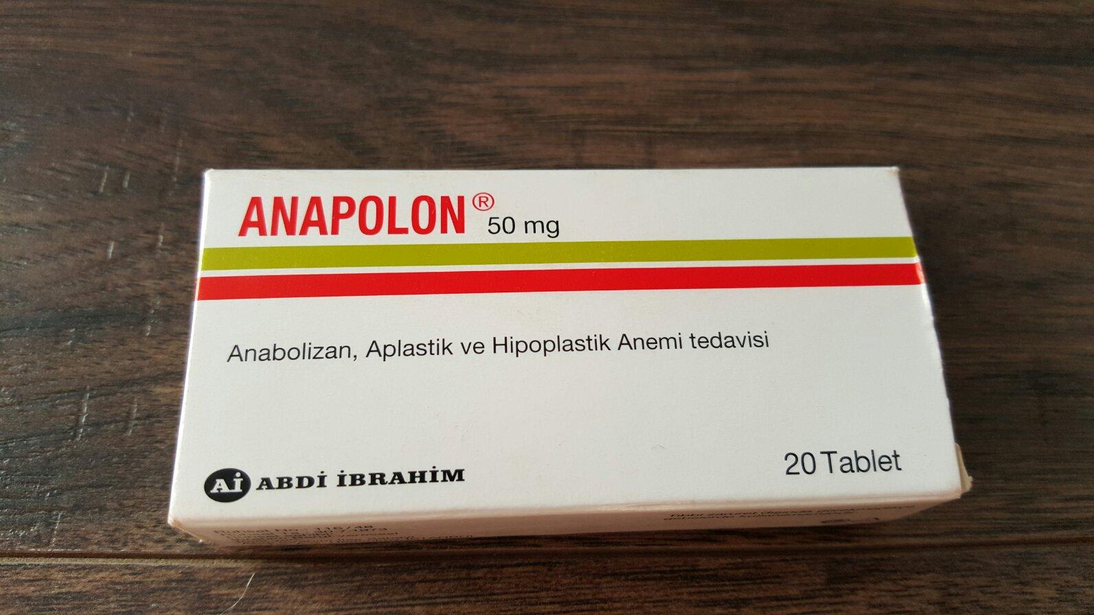 anapolon jak dziala