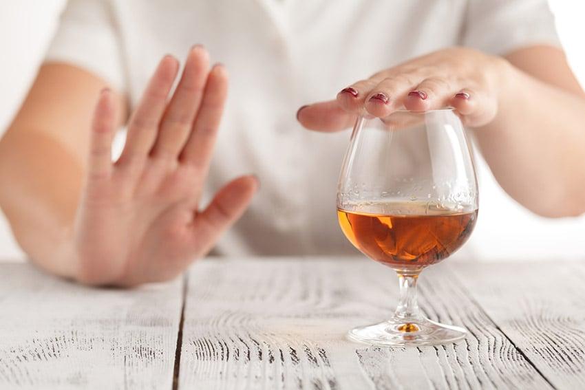 alkohol rak