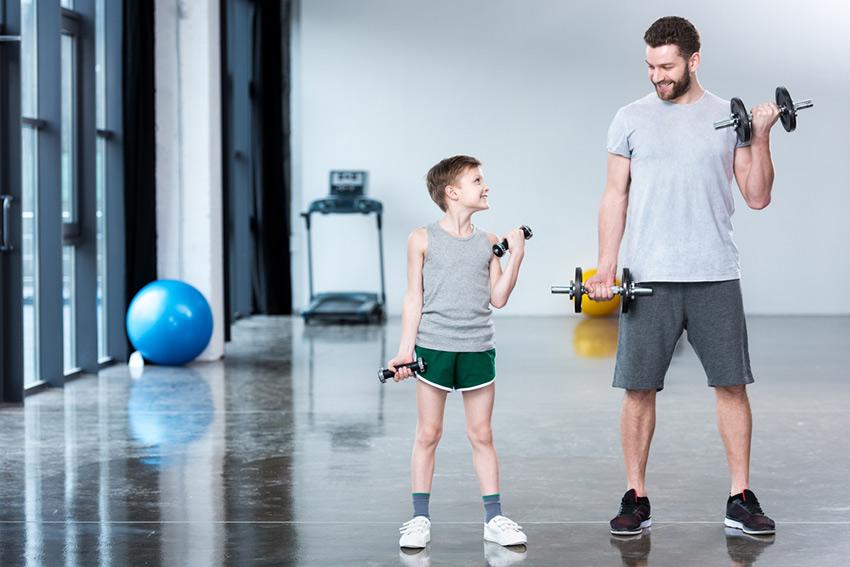 trening siłowy dzieci