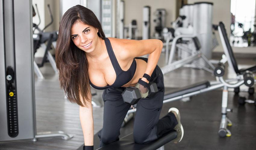 błędy kobieta trening