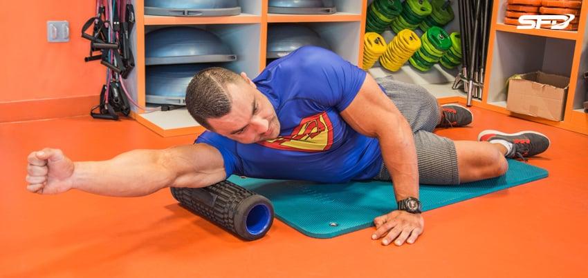 rozluźnienie tricepsów
