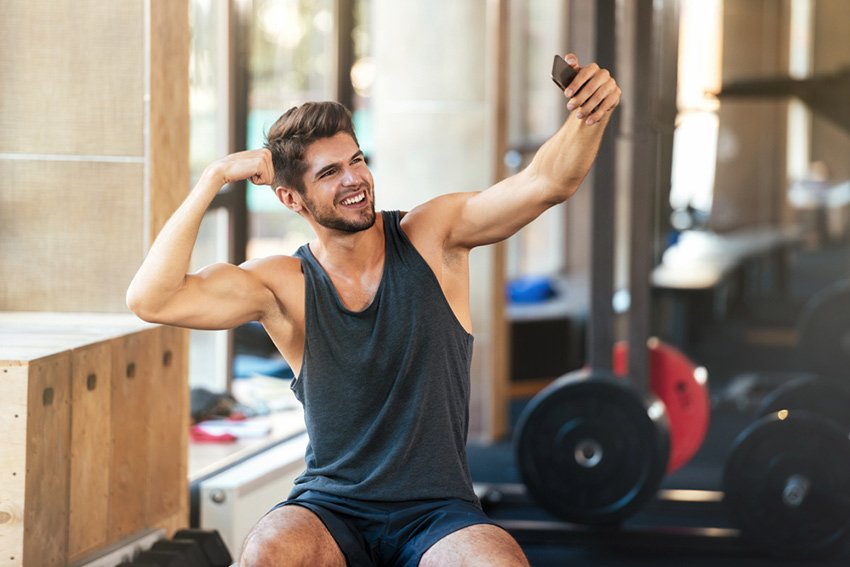 selfie gym