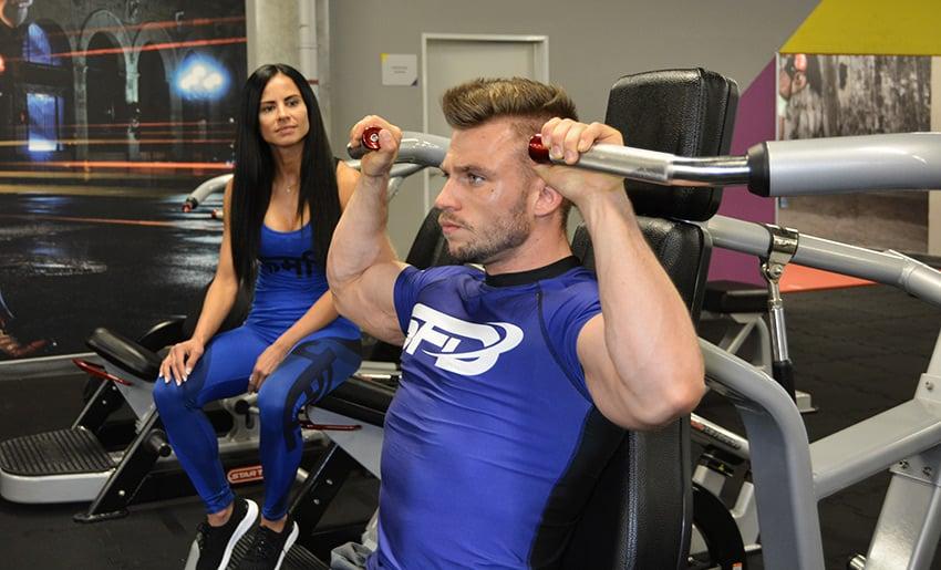 trening siłownia