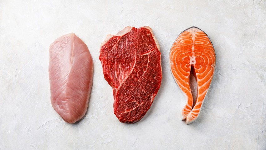 aminokwasy mięso ryby