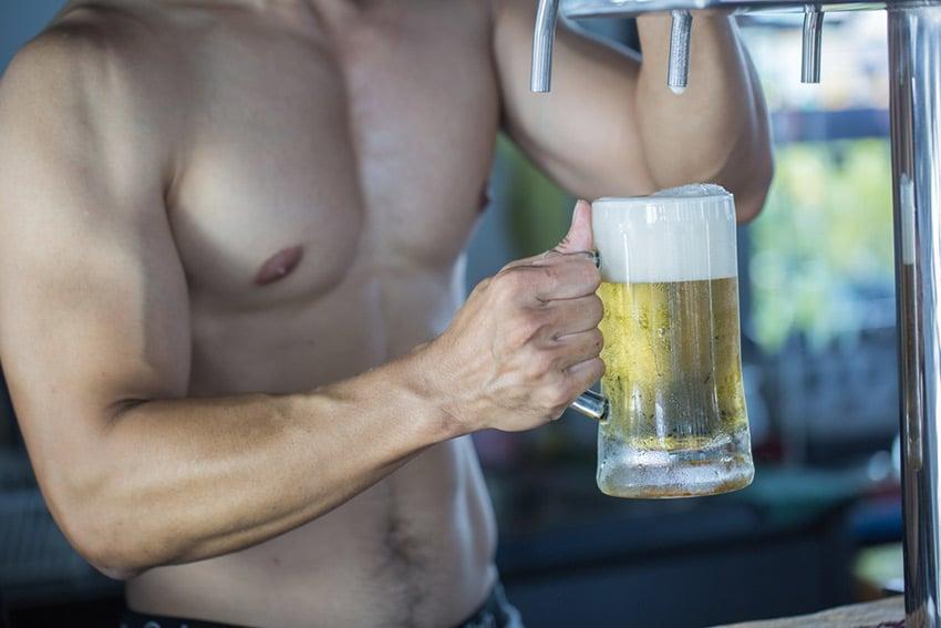 alkohol anabolik