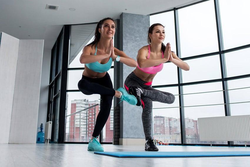 trening równowagi
