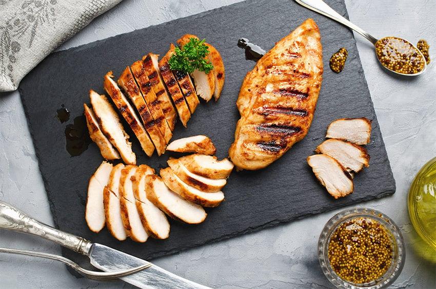 piers kurczaka białko