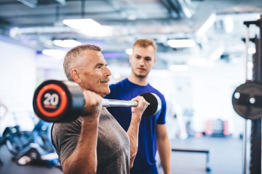 osoby starsze mięśnie