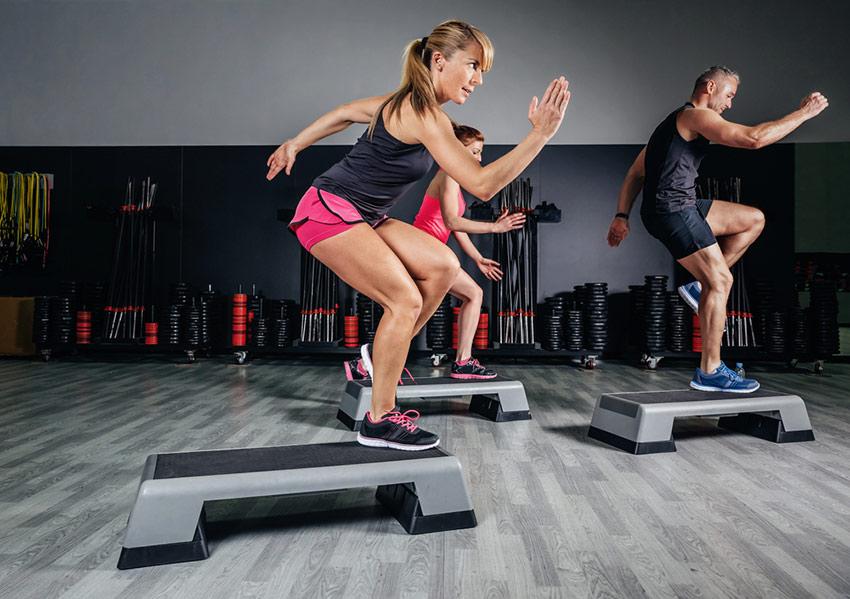aerobik kobieta