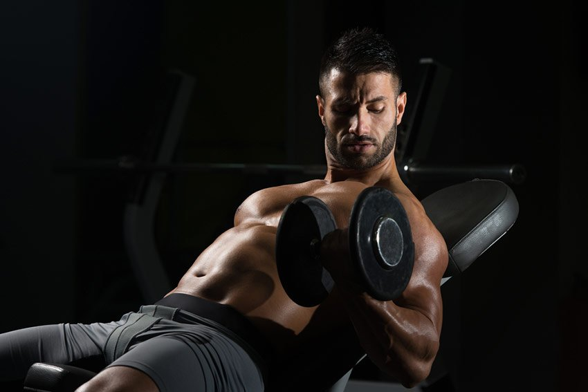 biceps ciężar