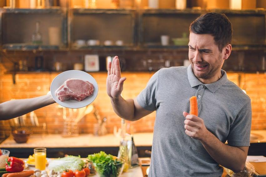 dieta wegańska testosteron