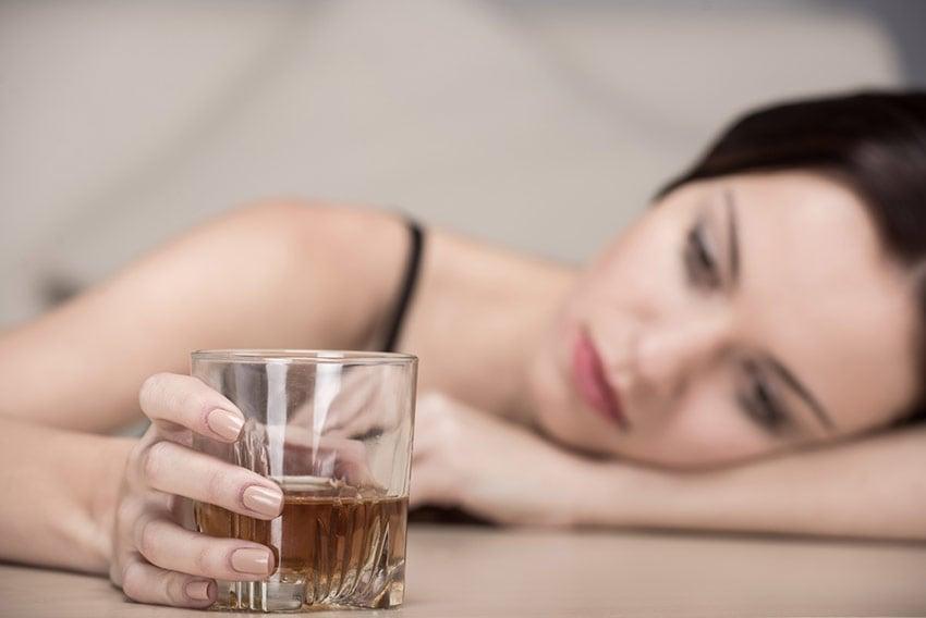 alkohol PMS