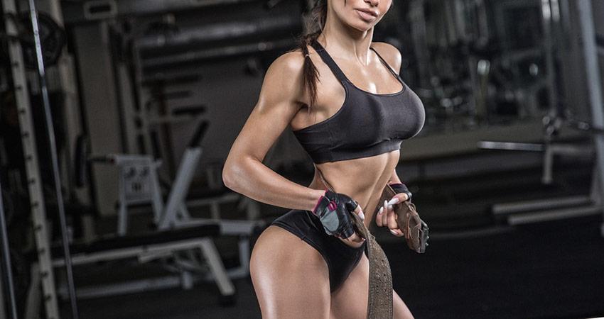 budowa mięśni u kobiet