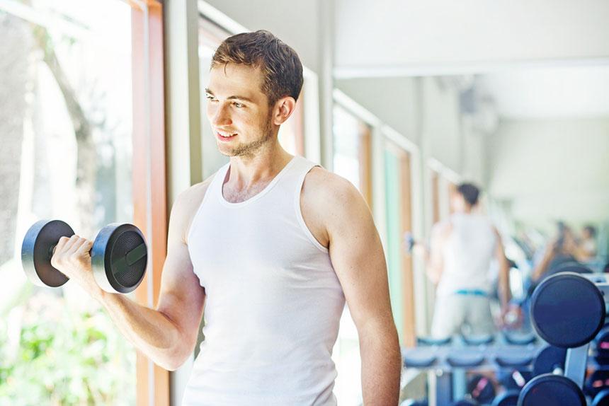 początkujący siłownia