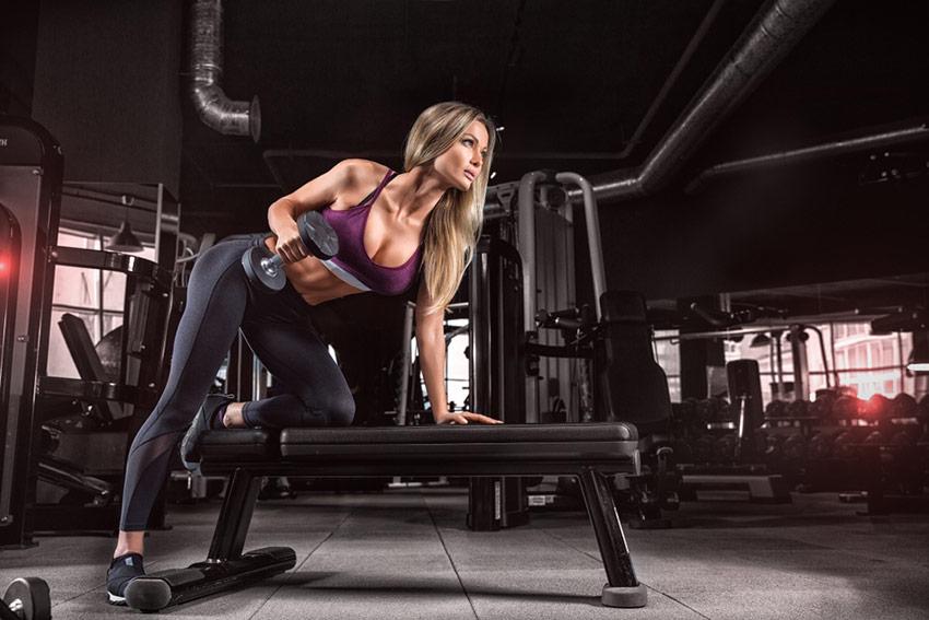 trening siłowy kobieta