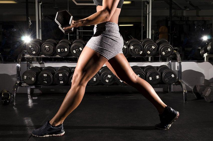 kobieta początek na siłowni
