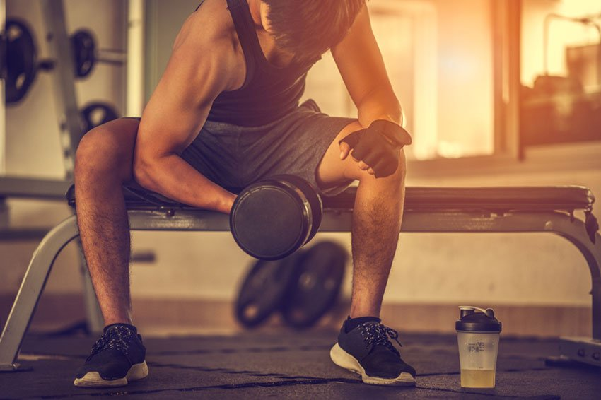 trening na siłowni brak efektów
