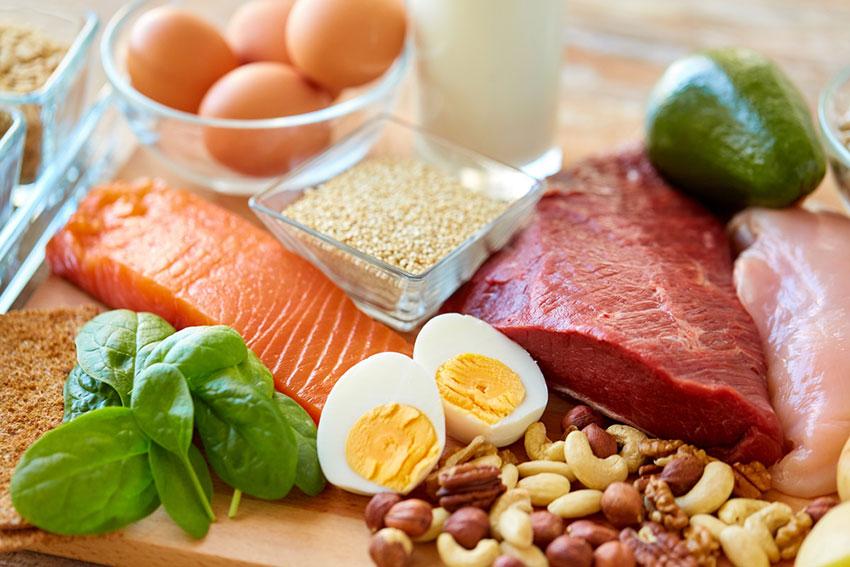 źródła białka w jedzeniu