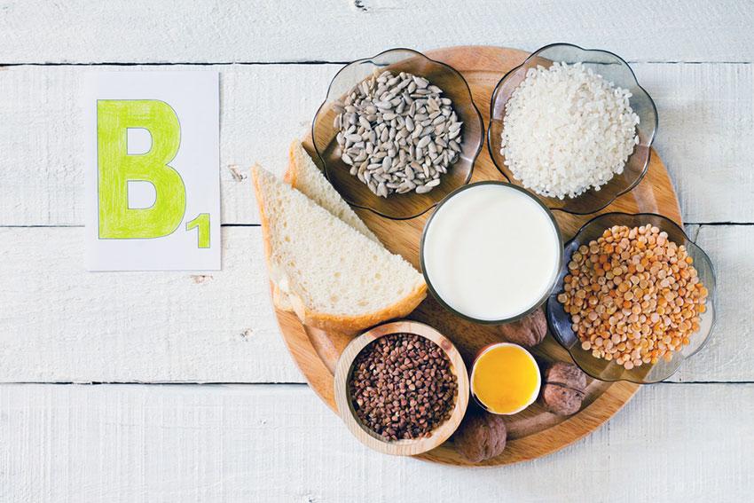 witamina B1 w jedzeniu