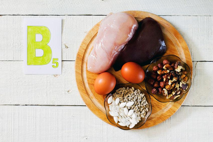 witamina b5 w pożywieniu