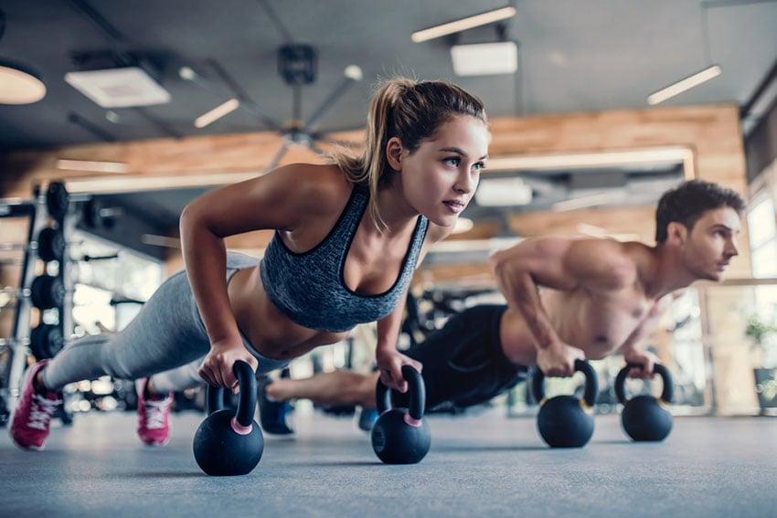 aktywność fizyczna na siłowni