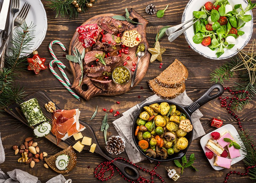 świąteczne jedzenie