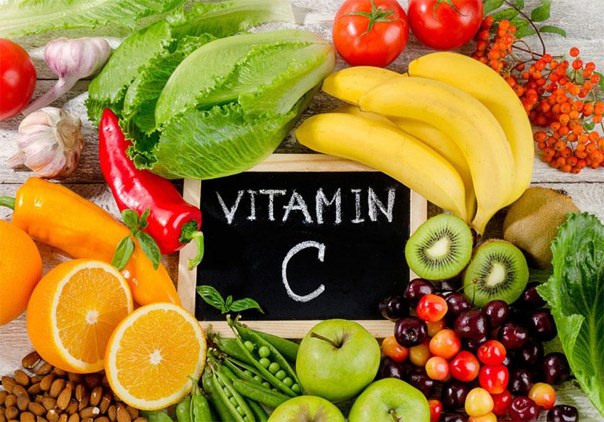 witamina C w jedzeniu