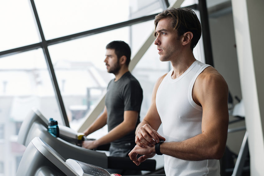 hiit trening z pulsometrem