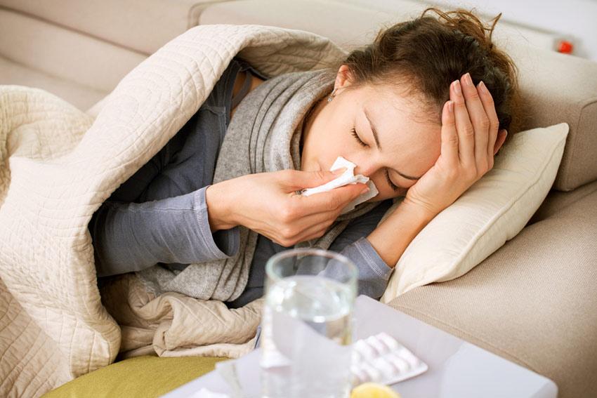 grypa rodzaje objawy