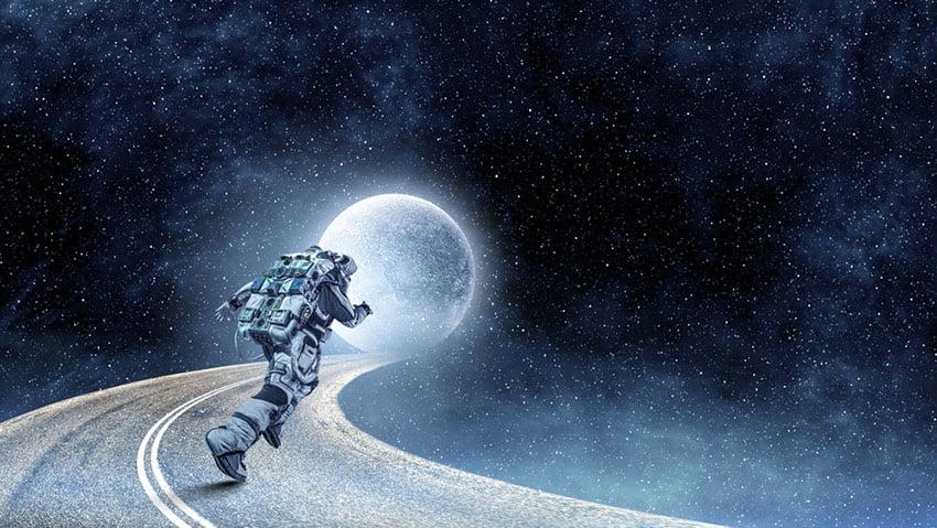 astronauci kondycja