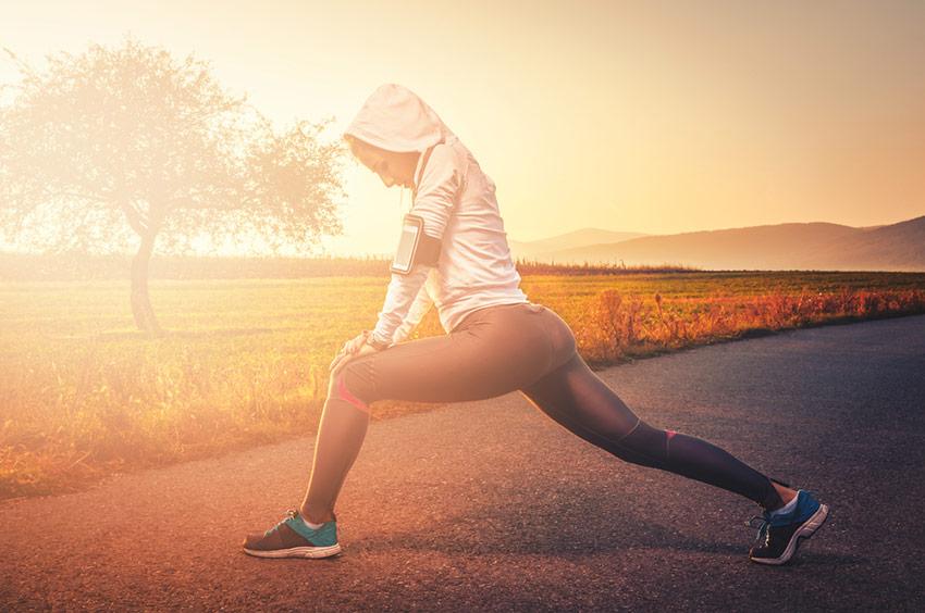 przerwa w treningu biegowym