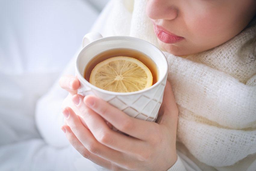 herbata podczas choroby