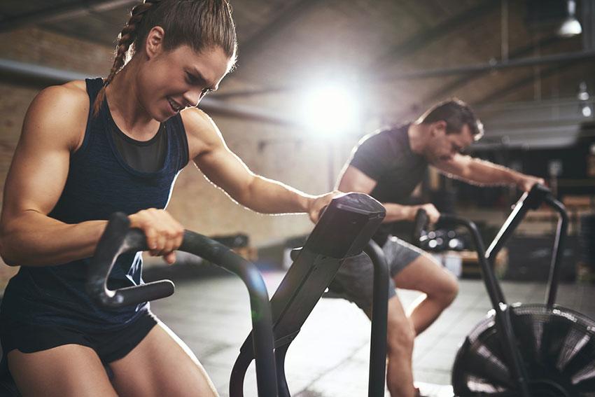 trening a hormony