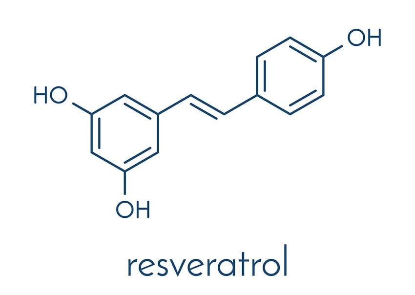 Resveratrol wzór