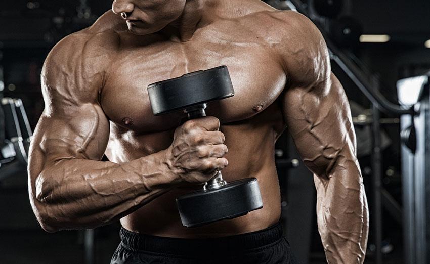wzrost mięśni a ciężar