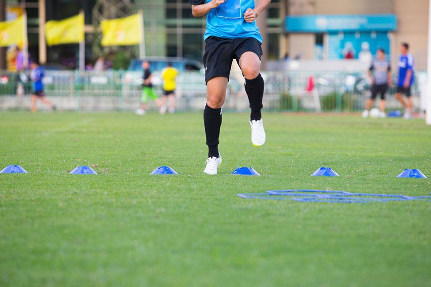 sport zespołowy trening