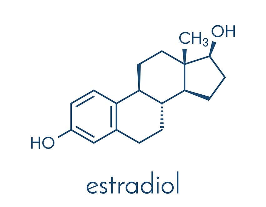 estradiol wzór chemiczny