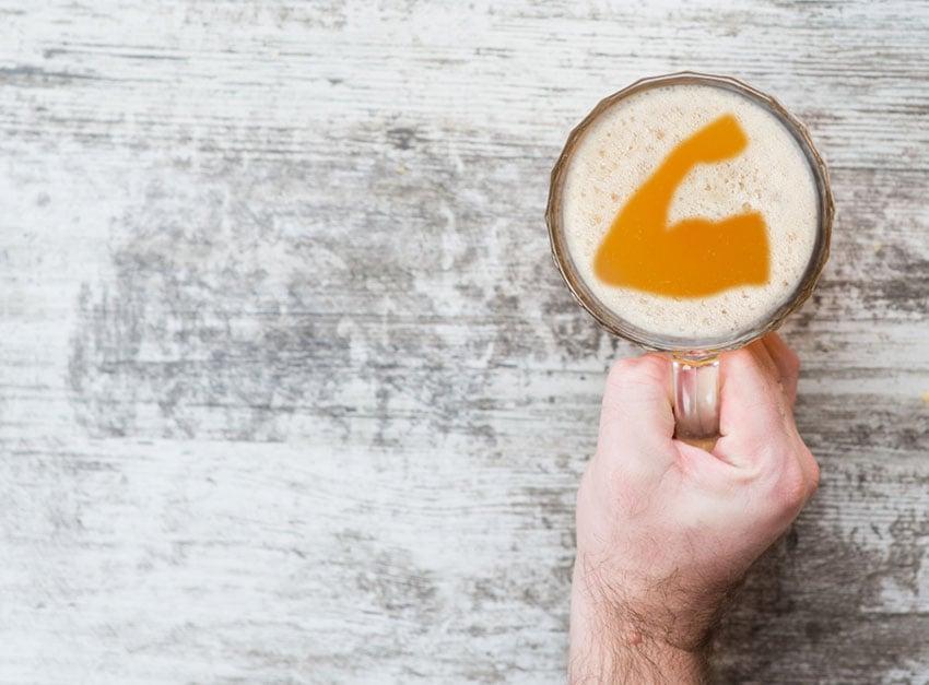 alkohol kufel piwa