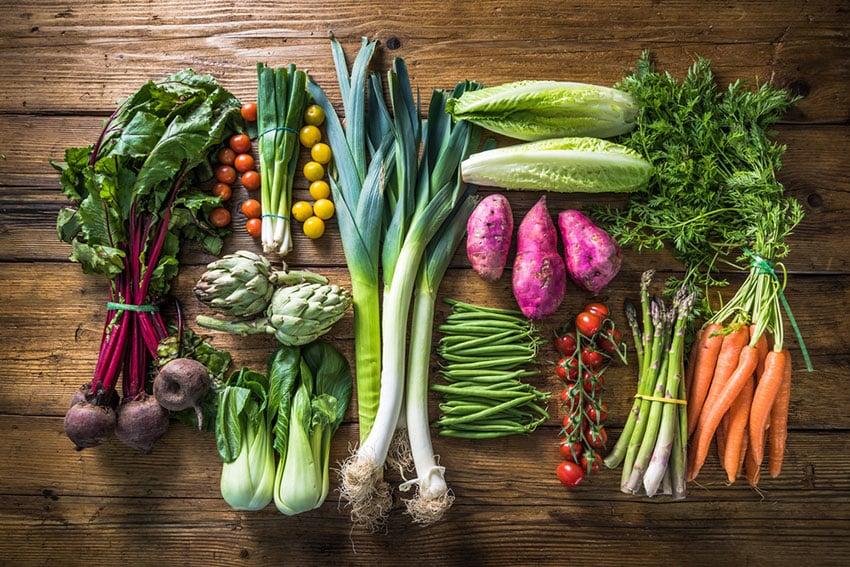 warzywa a ochudzanie
