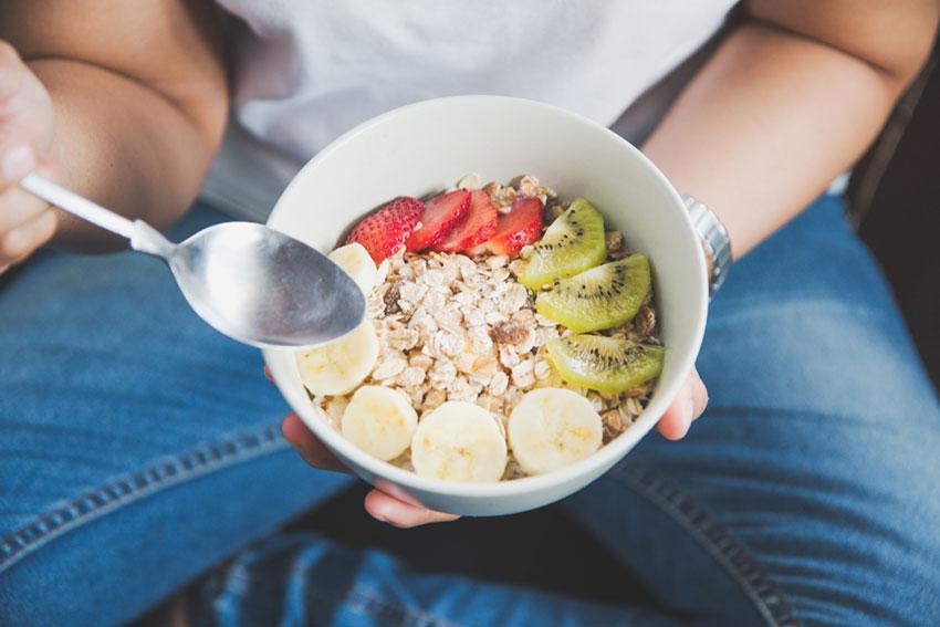 jedzenie a ochudzanie