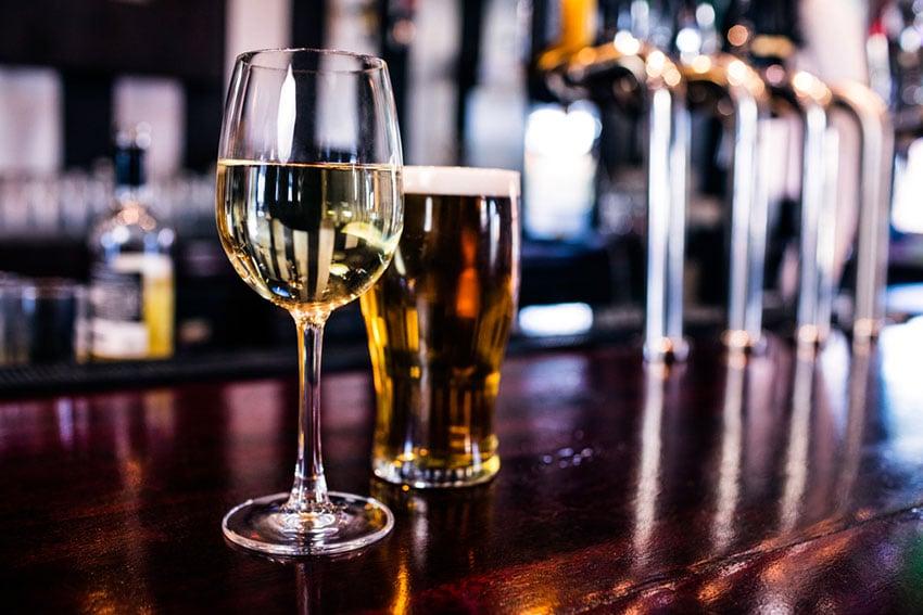 piwo i wino