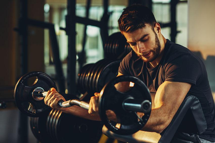 trenowanie bicepsów