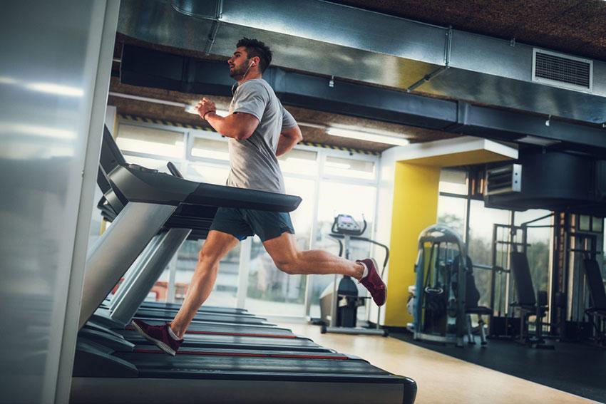 aeroby na siłowni
