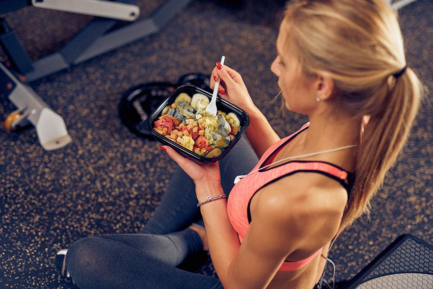 posiłki a dieta