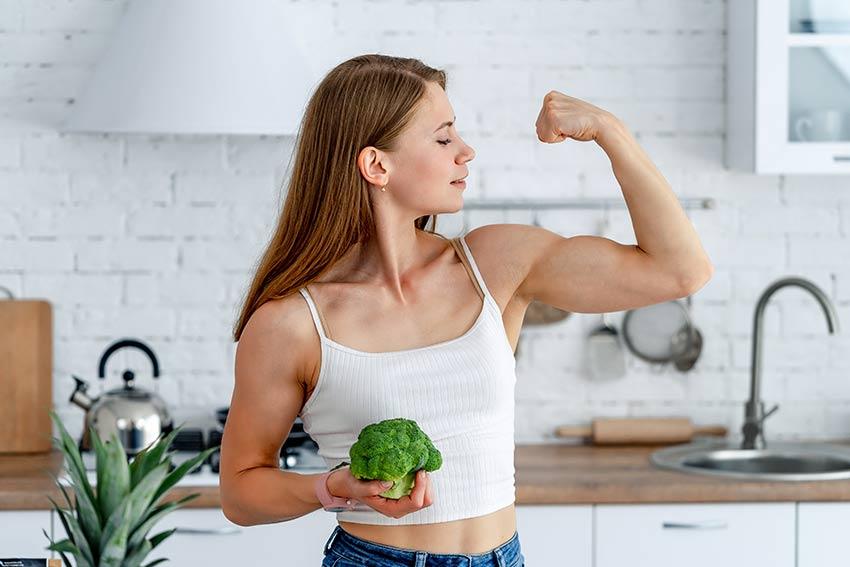 mięsnie a dieta wegańska