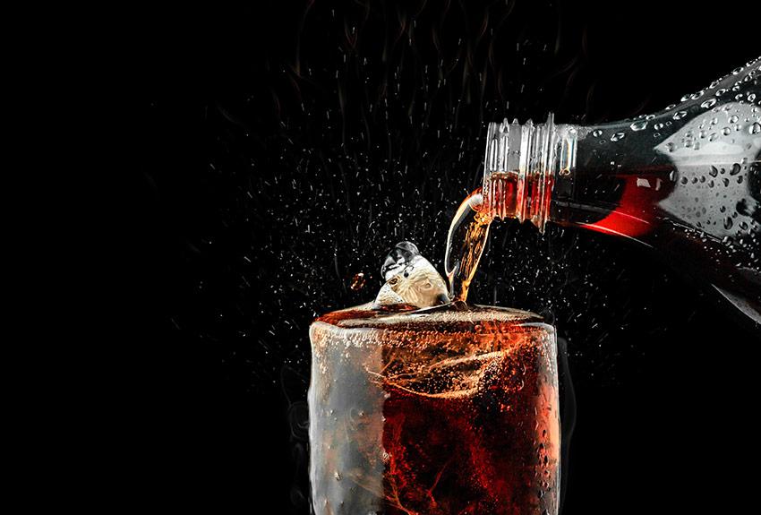 napój gazowany