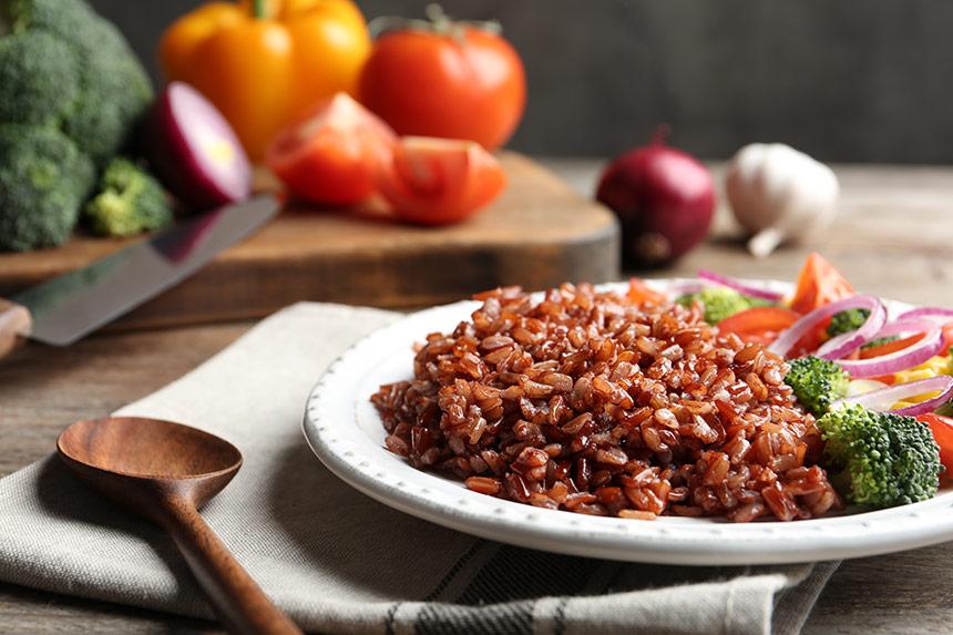 ryż brązowy
