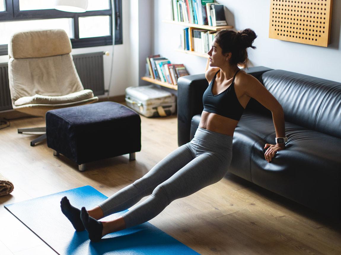 aktywność fizyczna w domu