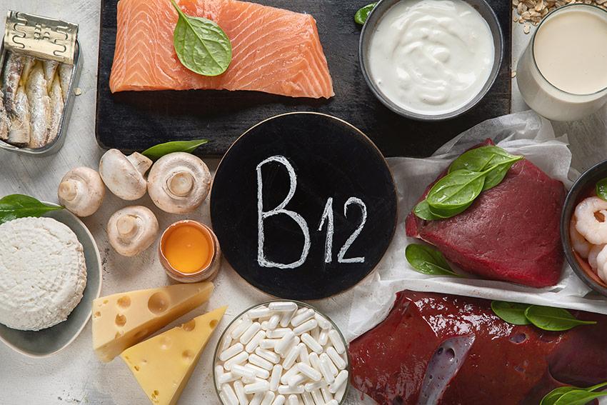 witamina B12 w jedzeniu